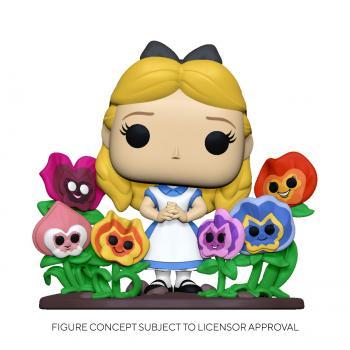 Alice in Wonderland 70th Anniversary POP! Deluxe Vinyl Figure - Alice w/ Flowers (Disney)