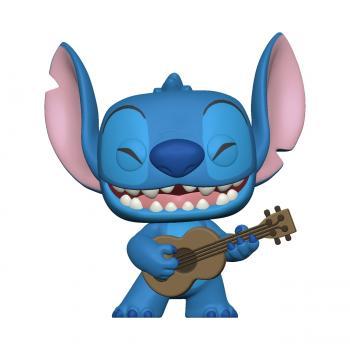 Lilo & Stitch POP! Vinyl Figure - Stitch w/Ukelele (Disney)