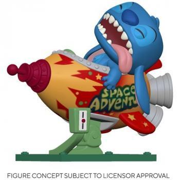 Lilo & Stitch POP! Rides Vinyl Figure - Stitch in Rocket (Disney)
