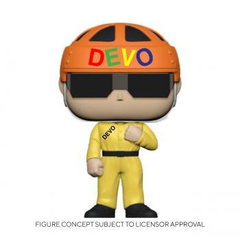 Devo POP! Vinyl Figure - Satisfaction (Yellow Suit) [STANDARD]