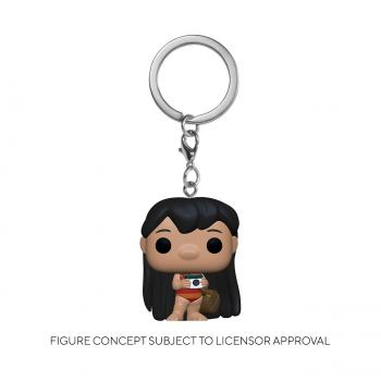 Lilo & Stitch Pocket POP! Key Chain - Lilo w/Camera (Disney)