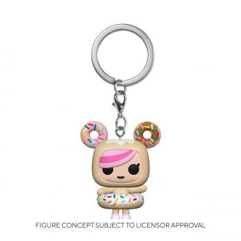 Tokidoki POP! Key Chain - Donutella