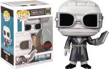 Universal Monsters POP! Vinyl Figure - Invisible Man (B&W) (Special Edition)