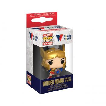 Wonder Woman 80th Anniversary POP! Key Chain - Wonder Woman (Challenge Of The Gods)