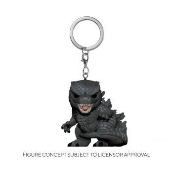 Godzilla Vs Kong POP! Key Chain - Godzilla