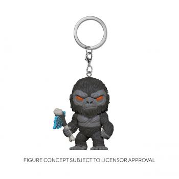 Godzilla Vs Kong POP! Key Chain - Kong w/ Axe