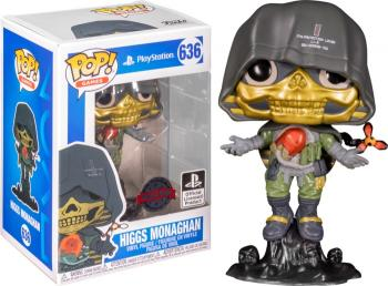 Death Stranding POP! Vinyl Figure - Higgs Monaghan (Metallic) (Special Edition)