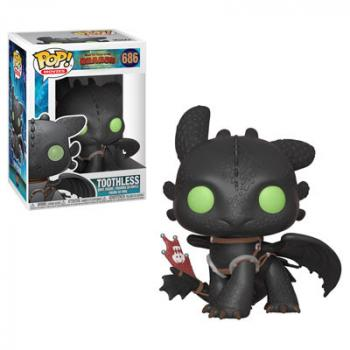 How to Train Your Dragon 3 POP! Vinyl Figure - Toothless