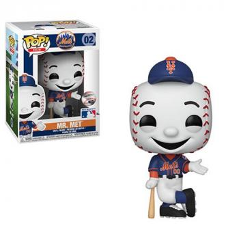MLB Stars: Mascots POP! Vinyl Figure - Mr. Met (New York Mets)