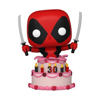 Deadpool 30th Anniversary POP! Vinyl Figure - in Cake  [COLLECTOR]