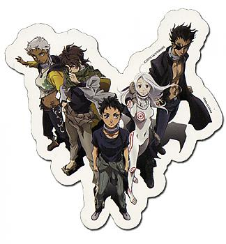Deadman Wonderland Sticker - Group