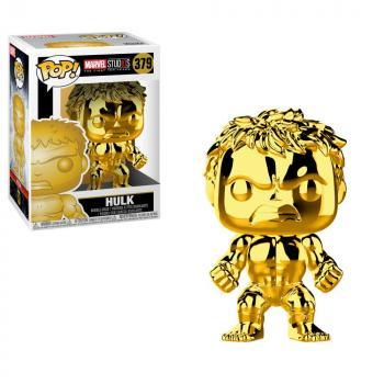 Marvel Studios 10th POP! Vinyl Figure - Hulk (Gold Chrome)