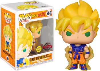 Dragon Ball Z POP! Vinyl Figure - Super Saiyan Goku (Awakening) (GITD) (Special Edition) [STANDARD]
