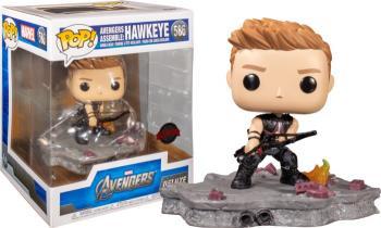Avengers POP! Deluxe Vinyl Figure - Hawkeye (Special Edition)