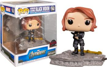 Avengers POP! Deluxe Vinyl Figure - Black Widow (Special Edition)
