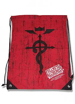 FullMetal Alchemist Drawstring Backpack - Brotherhood Cross of Flamel