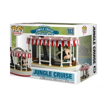 Jungle Cruise POP! Ride Vinyl Figure - Skipper Mickey w/ Boat