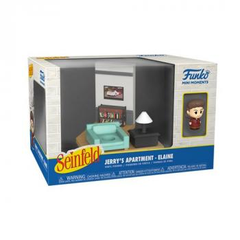 Seinfeld POP! Mini Moments Vinyl Figure - Elaine Diorama [RANDOM]
