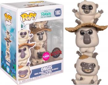 Raya and the Last Dragon POP! Vinyl Figure - Ongis (Flocked)(Special Edition) [COLLECTOR]