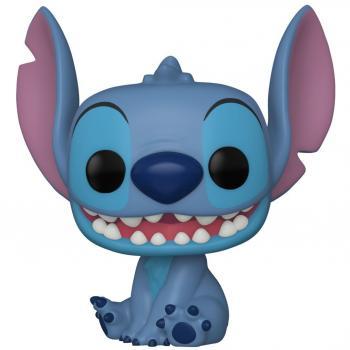 Lilo & Stitch POP! Vinyl Figure - Smiling Seated Stitch (Disney) [COLLECTOR]