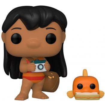 Lilo & Stitch POP! Vinyl Figure - Lilo with Pudge Buddy (Disney) [COLLECTOR]