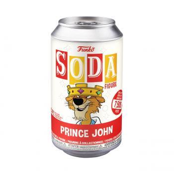Robin Hood Disney Vinyl Soda Figure - Prince John (Limited Edition: 7,500 PCS)