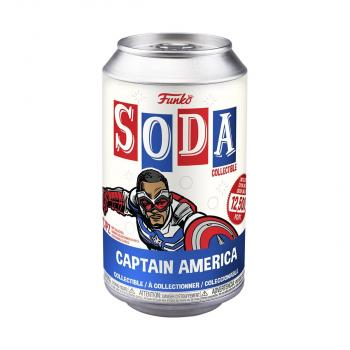 The Falcon and the Winter Soldier Vinyl Soda Figure - Captain America (Limited Edition: 12,500 PCS)