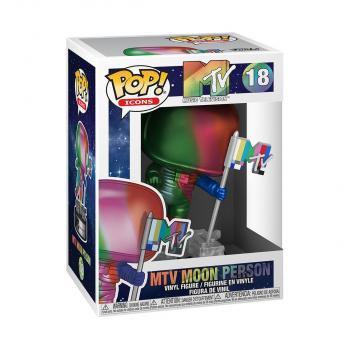 Ad Icons MTV POP! Vinyl Figure - Moon Person (Rainbow)