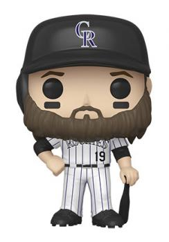 MLB Stars POP! Vinyl Figure - Charlie Blackmon (Colorado Rockies)