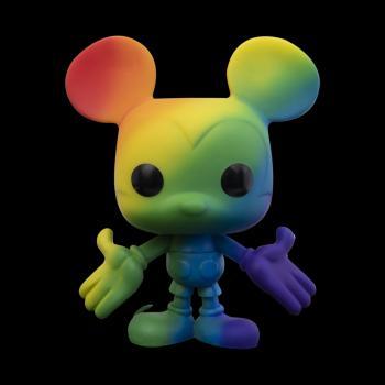 Mickey Mouse POP! Vinyl Figure - Mickey Mouse (RNBW) (Pride 2021) (Disney) [STANDARD]