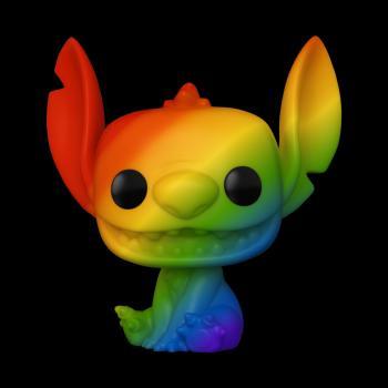 Lilo & Stitch POP! Vinyl Figure - Stitch (RNBW) Pop Figure (Pride 2021) (Disney)