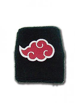 Naruto Shippuden Sweatband - Akatsuki Cloud Icon