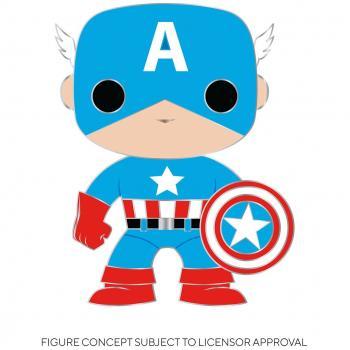 Captain America POP! Pins - Captain America (Marvel)