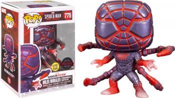 Spider-man Miles Morales PS POP! Vinyl Figure - Spiderman (Programmable Matter Suit) (GITD) (Special Edition)
