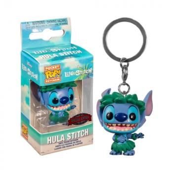 Lilo & Stitch Pocket POP! Key Chain - Stitch (Hula Skirt) (Special Edition)