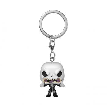 Nightmare Before Christmas Pocket POP! Key Chain - Jack (Scary Face)