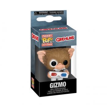 Gremlins Pocket POP! Key Chain - Gizmo w/3D Glasses
