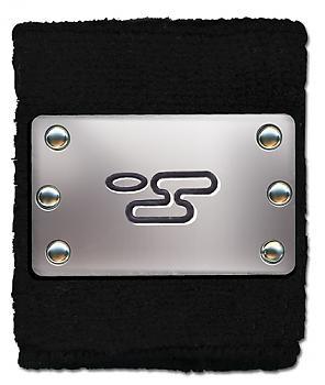 Naruto Shippuden Sweatband - Cloud Plate Logo