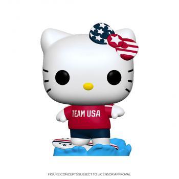 Hello Kitty Sports POP! Vinyl Figure - Surfing Hello Kitty