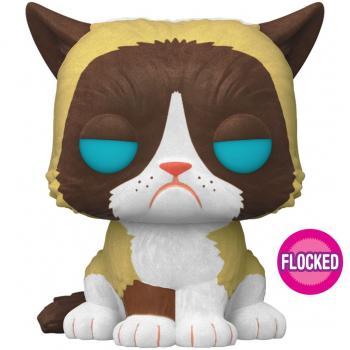 Pop Icons POP! Vinyl Figure - Grumpy Cat (Flocked) (Special Edition)