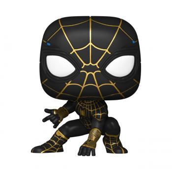 Spider-man No Way Home POP! Vinyl Figure - Spiderman (Black/Gold) [STANDARD]