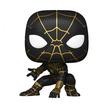 Spider-man No Way Home POP! Vinyl Figure - Spiderman (Black/Gold) [COLLECTOR]