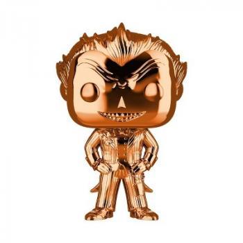 Batman Arkham Asylum POP! Vinyl Figure - The Joker (Orange Chrome) (DC) (Overseas Edition)