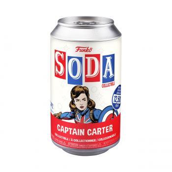 Marvel's What If Vinyl Soda Figure - Captain Carter (Limited Edition: 12,500 PCS)