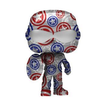 Falcon and the Winter Soldier POP! Vinyl Figure - Captain America (Sam Wilson) (Artist Series Patriotic Age) (Special Edition)
