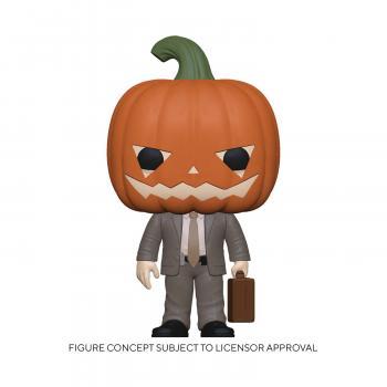 Office POP! Vinyl Figure - Dwight w/ Pumpkinhead [STANDARD]