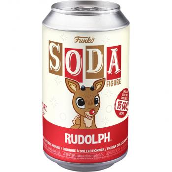 Rudolph Vinyl Soda Figure -  Rudolph (Limited Edition: 10,000 PCS)