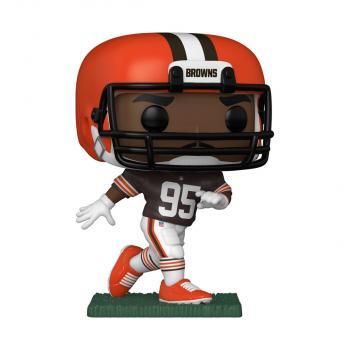 NFL Stars POP! Vinyl Figure - Myles Garrett (Browns Home Uniform)