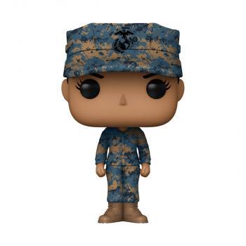 Military POP! Vinyl Figure - Marine Female (Hispanic) [COLLECTOR]