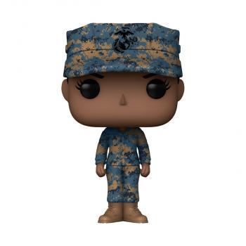 Military POP! Vinyl Figure - Marine Female (African American) [COLLECTOR]